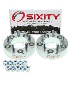 Sixity Wheel Adapters