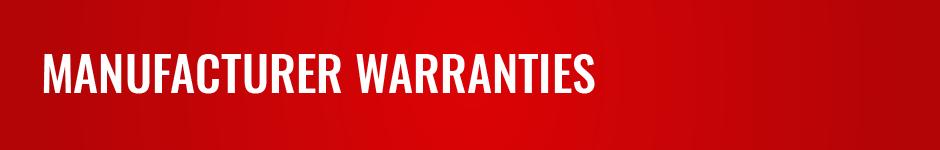 Manufacturer Warranties